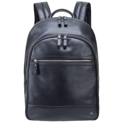 """Кожаный рюкзак для ноутбука 13"""" Visconti TC80 Tank 13 (Black)"""