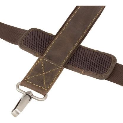 Большой кожаный мужской портфель Visconti 16055XL Hercules (Oil Brown)