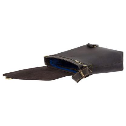 Сумка через плечо мужская Visconti 16071 Aspin (Oil Brown)