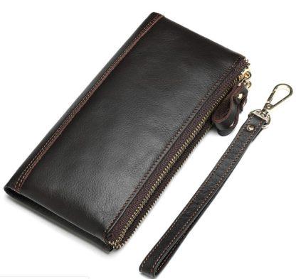 Коричневый мужской клатч Tiding Bag 8027C