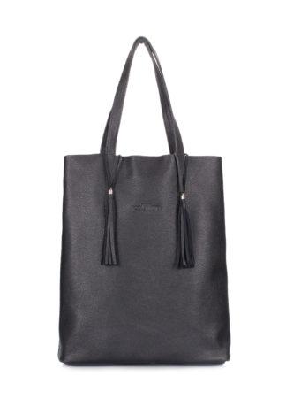 Кожаная сумка POOLPARTY Angel, angel-black