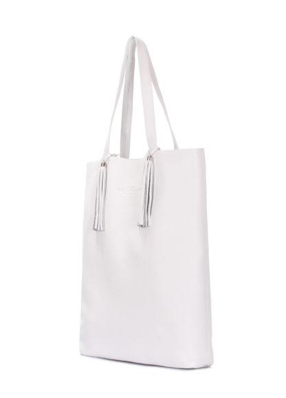 Белая кожаная сумка POOLPARTY Angel, angel-white