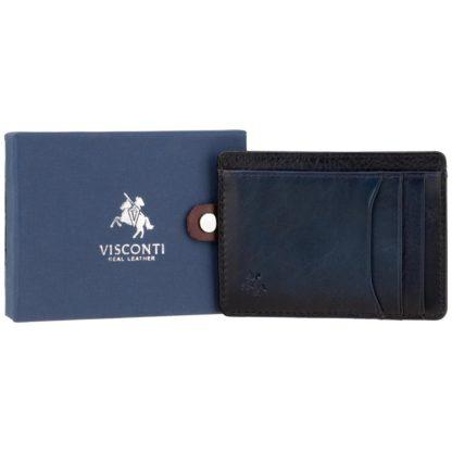 Картхолдер Visconti AT67 Madison (Burnish Blue)