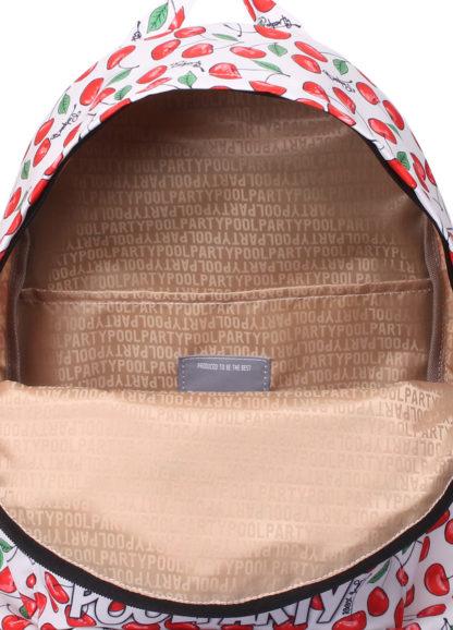 Рюкзак CHERRY с черешнями белый