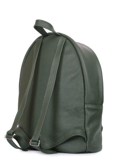 Кожаный рюкзак POOLPARTY зеленый