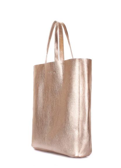 Кожаная сумка POOLPARTY City, city-gold