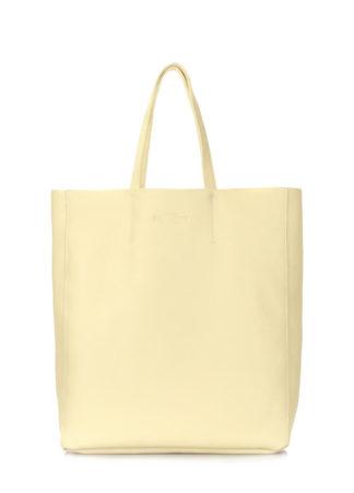 Кожаная сумка POOLPARTY City, city-lemonade