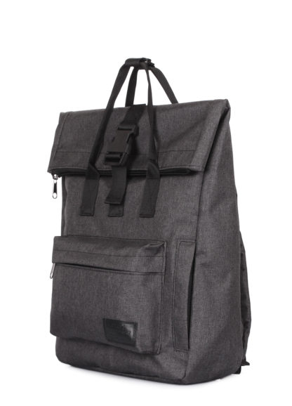 Рюкзак-роллтоп Explorer серый