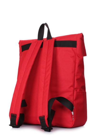 Рюкзак-роллтоп Finder с черешнями красный