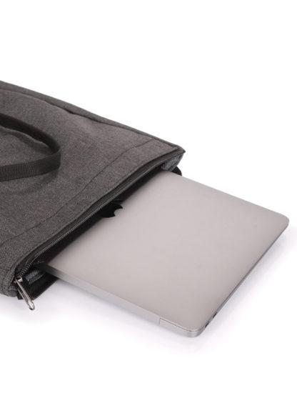 Рюкзак-роллтоп Finder серый