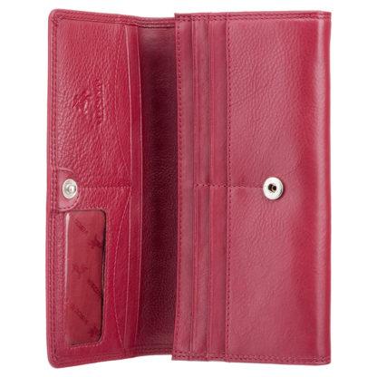 Кошелек женский Visconti HT35 Buckingham c RFID (Red)