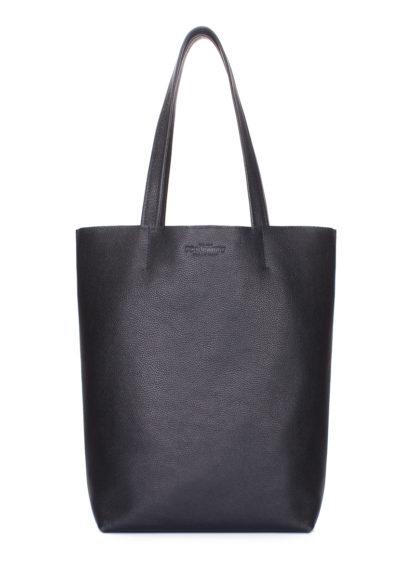 Кожаная сумка-шоппер Iconic, iconic-black