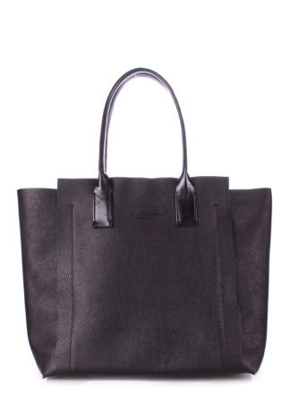 Кожаная сумка POOLPARTY Mania, legend-black
