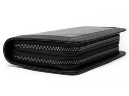 Мужской кожаный клатч черный MS Ms005A