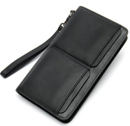 Черный клатч мужской MS Collection Ms007A