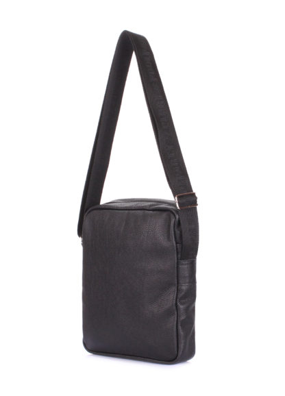 Мужская кожаная сумка на плечо POOLPARTY, pool-94-leather
