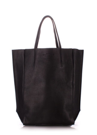 Кожаная сумка POOLPARTY BigSoho, poolparty-bigsoho-black
