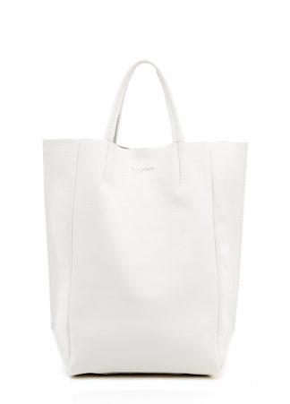 Кожаная сумка POOLPARTY BigSoho, poolparty-bigsoho-white