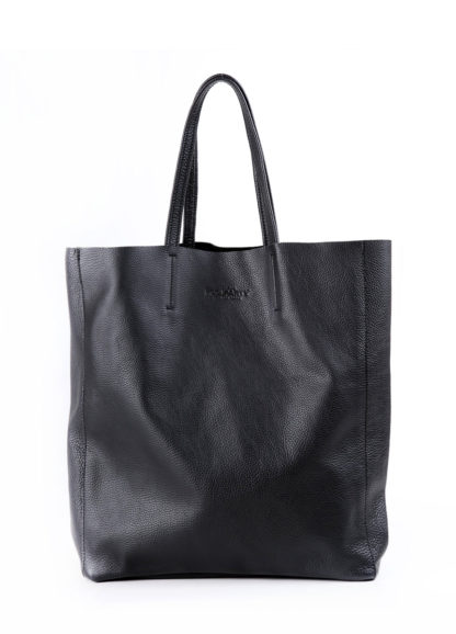 Кожаная сумка POOLPARTY City, city-black