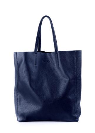 Кожаная сумка POOLPARTY City, city-darkblue