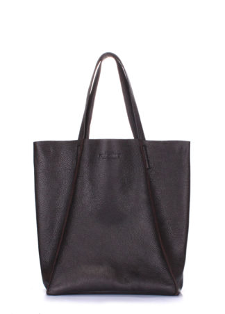 Кожаная сумка POOLPARTY Edge, poolparty-edge-brown