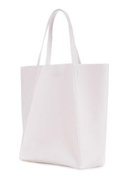 Кожаная сумка POOLPARTY Edge, poolparty-edge-white