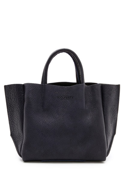 Кожаная сумка POOLPARTY Soho, poolparty-soho-black