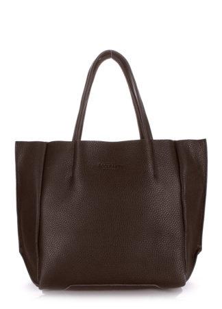 Кожаная сумка POOLPARTY Soho, poolparty-soho-brown