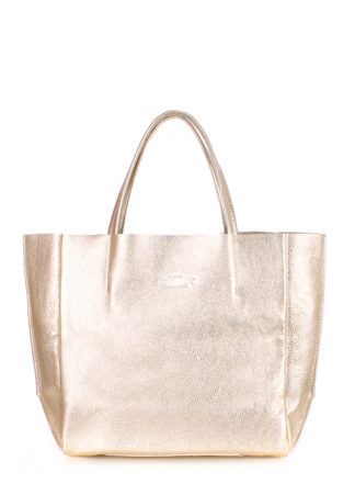 Кожаная сумка POOLPARTY Soho, poolparty-soho-gold