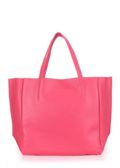 Кожаная сумка POOLPARTY Soho, poolparty-soho-pink