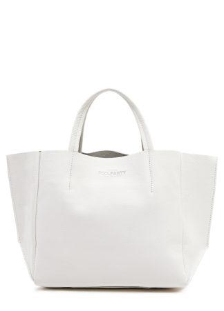 Кожаная сумка POOLPARTY Soho, poolparty-soho-white