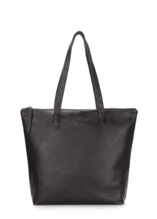 Кожаная сумка POOLPARTY Secret, secret-black