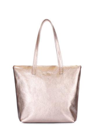 Золотая кожаная сумка Secret, secret-gold