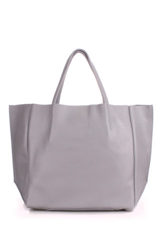 Кожаная сумка POOLPARTY Soho, soho-grey