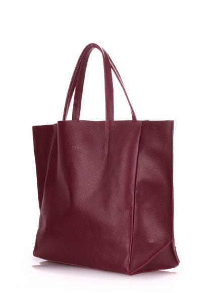 Кожаная сумка POOLPARTY Soho, soho-marsala