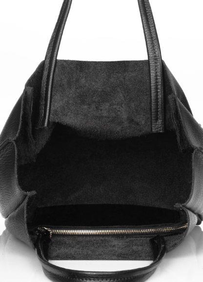 Кожаная сумка POOLPARTY Soho Mini, soho-mini-black