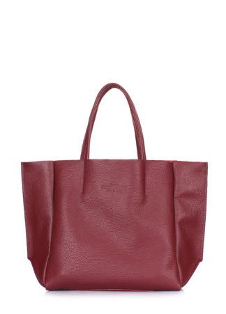 Кожаная сумка POOLPARTY Soho Mini, soho-mini-marsala
