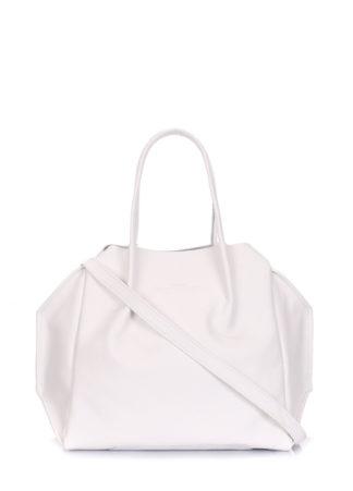 Кожаная сумка POOLPARTY Soho Remix, soho-rmx-white