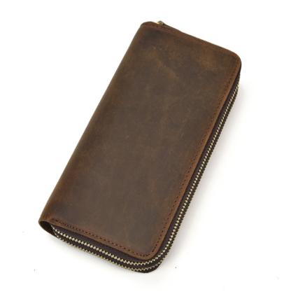 Клатч мужской коричневый Tiding Bag T4009R