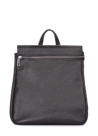 Кожаный черный рюкзак Venice