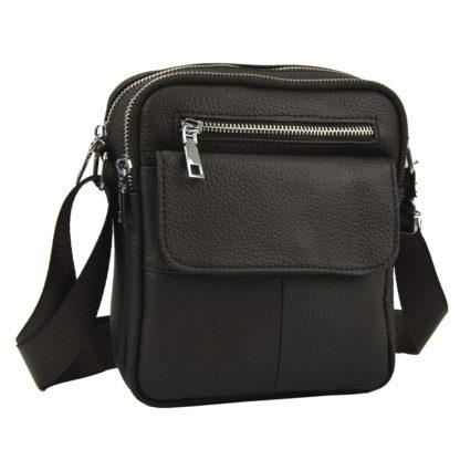 Кожаный мужской мессенджер Tiding Bag A25-1108C