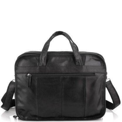 Большая мужская сумка кожаная Jasper&Maine 7093A