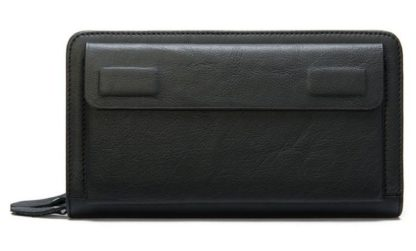 Кожаный клатч на две молнии мужской Bexhill Bx9069-1A