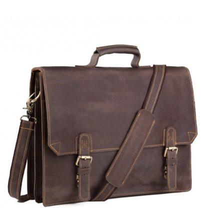 Кожаный портфель для А4 документов Tiding Bag GA2095R