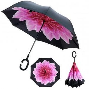 Зонт антиветер, обратного сложения 122-2