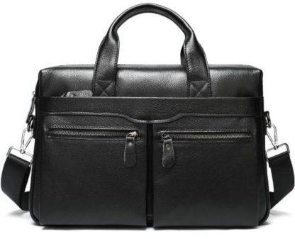 Кожаная сумка для ноутбука 14″ и документов А4 Bexhill A25-7122A