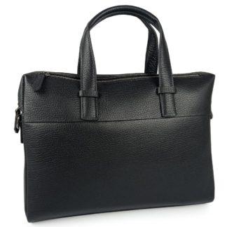 Деловая кожаная сумка для ноутбука и документов А4 Tiding Bag NM29-88253-3A